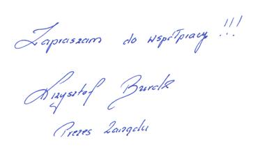 Zapraszam do współpracy! Krzysztof Burdz - Prezes Zarządu