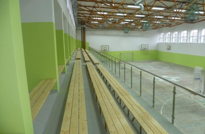 Choszczno - remont hali sportowej