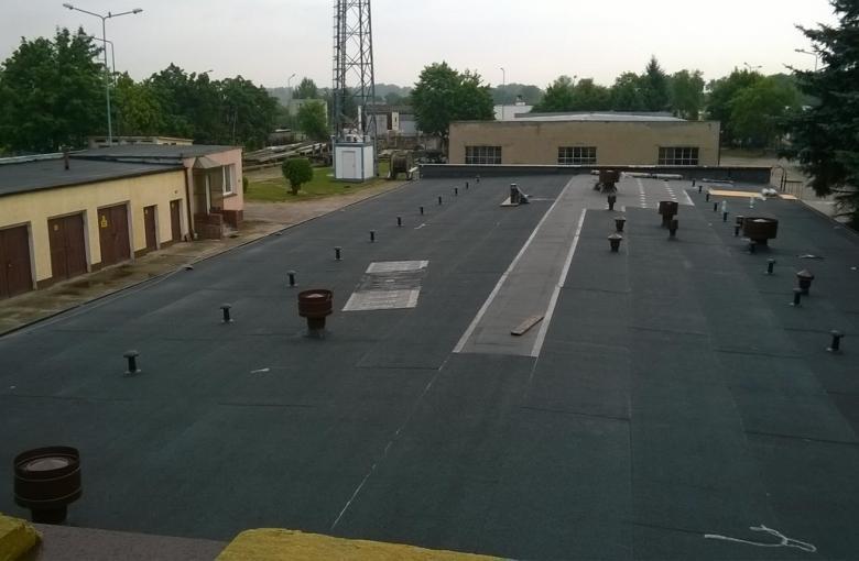 Choszczno, Enea - modernizacja stropodachu
