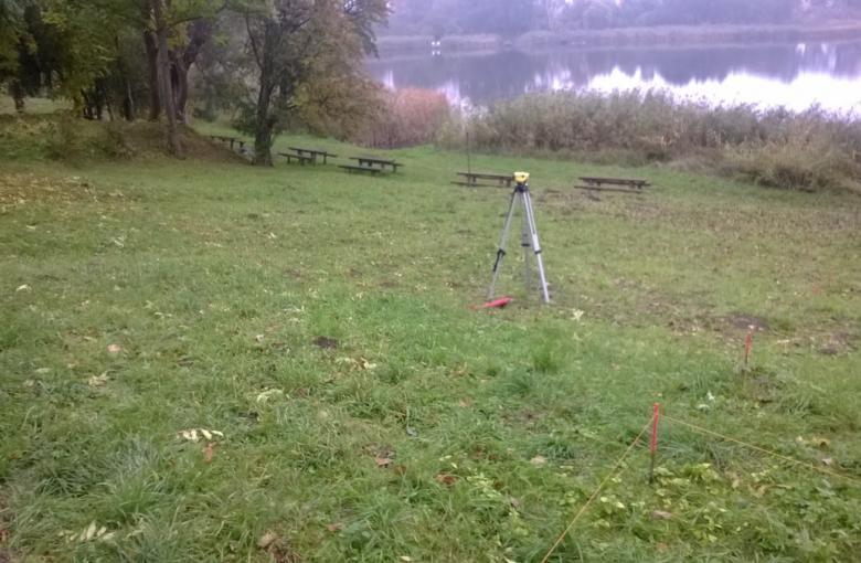 Jezioro Krzęcińskie - teren rekreacyjno-wypoczynkowy