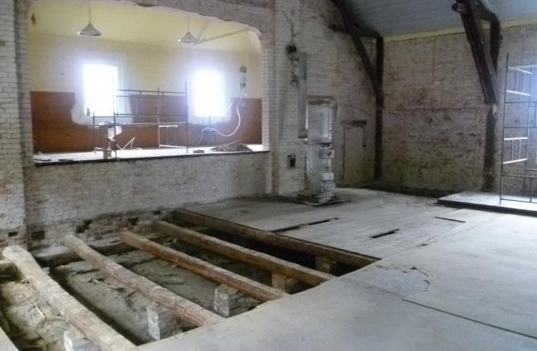 Rąpin - remont sali wiejskiej