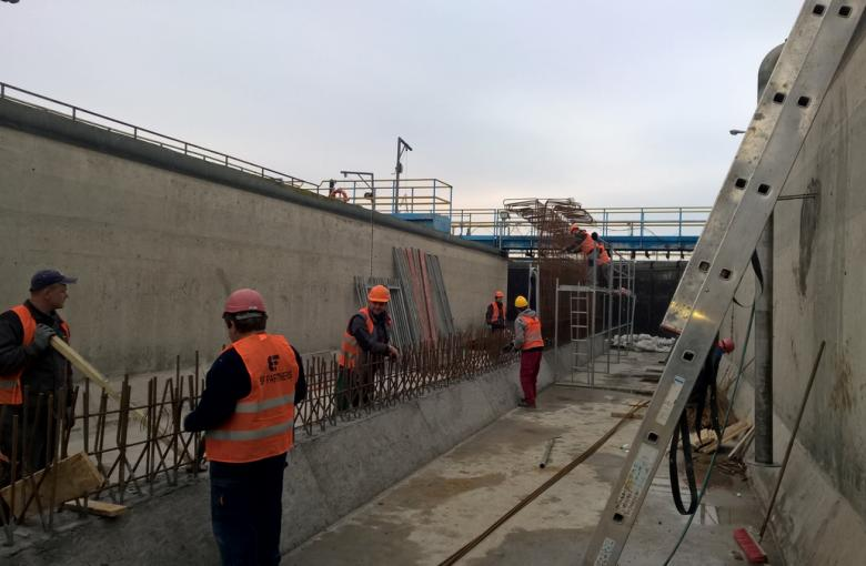Modernizacja oczyszczalni ścieków w Drezdenku