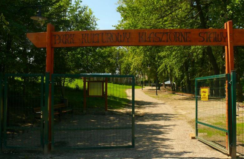 """Park kulturowy """"Klasztorne Stawy"""""""